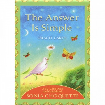 The Answer is Simple Oracle kort av Sonia Choquette