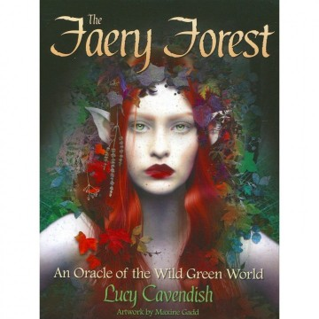 The Faery Forest Oracle kort av Lucy Cavendish