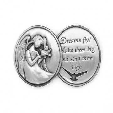 AngelStar Inspirational Token - Dreams Fly! Make them big and make them high