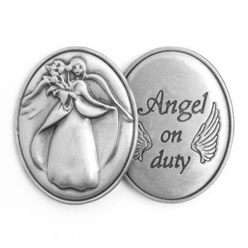 AngelStar Inspirational Token - Angel on Duty