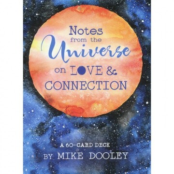 Notes From the Universe on Love & Connection Oracle kort av Mike Dooley