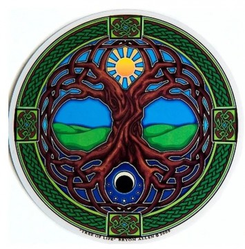 Vindus pynt, Tree of Life sticker