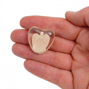 Serenity Heart Stone - Hope 3 cm