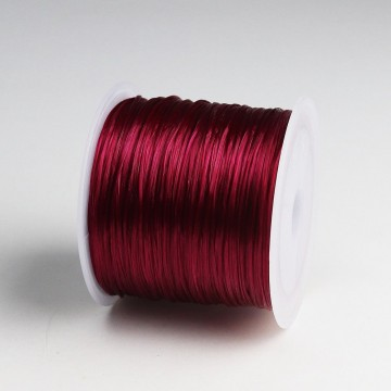 Elastisk Wine tråd (strikk), 0,5 mm, 50 meter