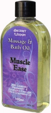 Muscle Ease massasjeolje, 100 ml