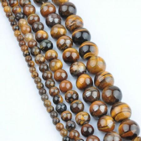Stein (Beads) runde med hull